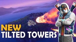 NEW TILTED TOWERS | AGGRESSIVE PRO PLAY| HIGH KILL FUNNY GAME - (Fortnite Battle Royale)