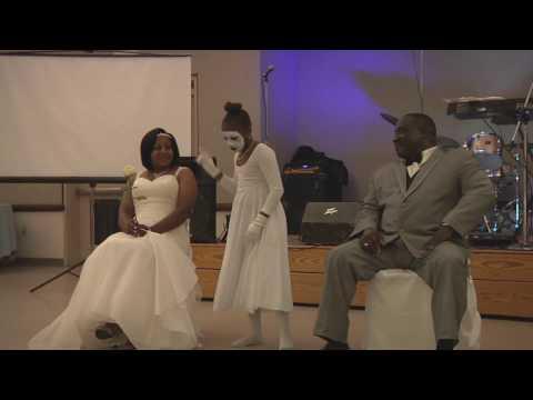 Most moving wedding praise dance