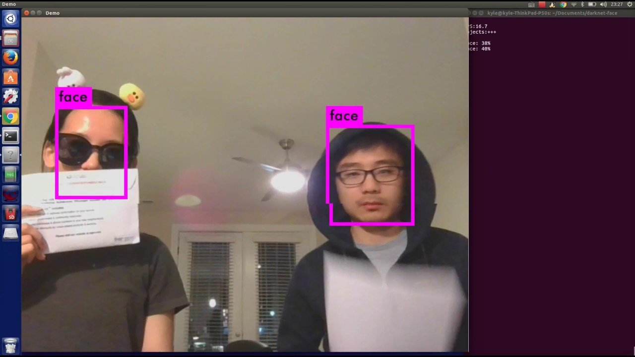 face detection base on YOLO