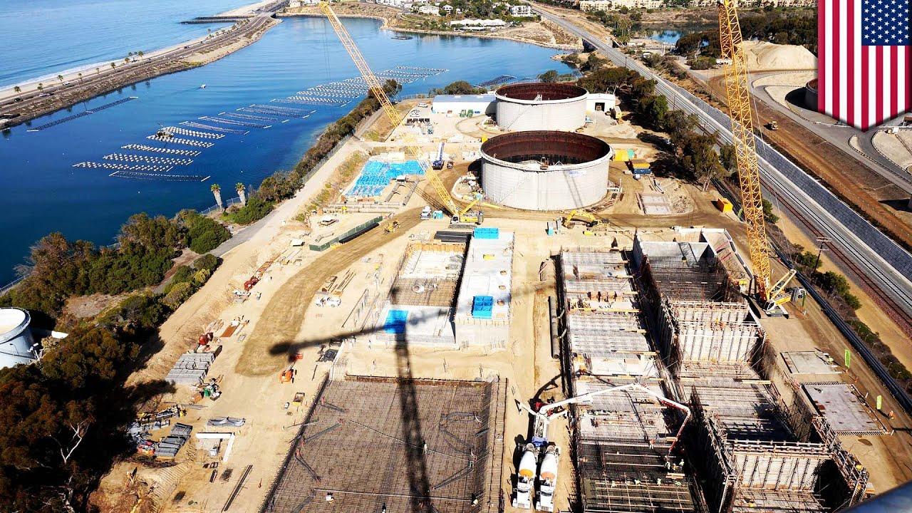 San Diego builds $1 billion desalination plant to battle