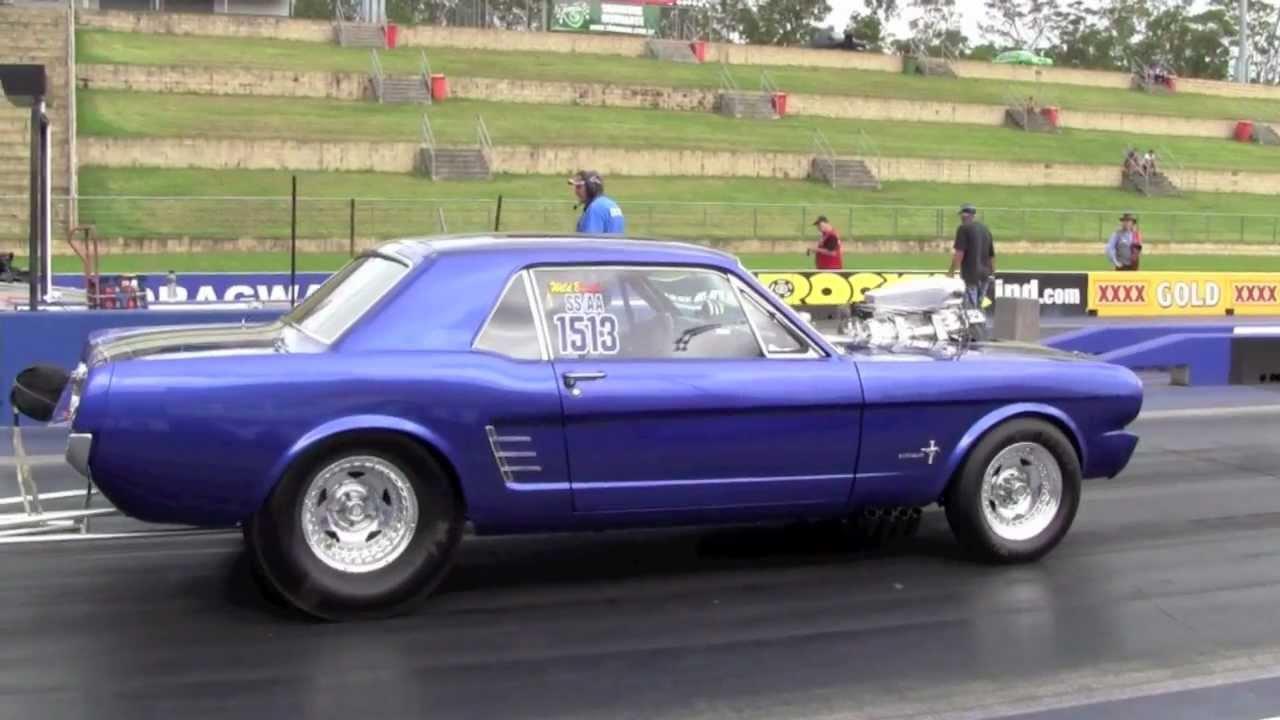 Matt S Blown 1966 Ford Mustang Youtube