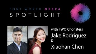 FWO Spotlight! Meet FWO Choristers Jake Rodriguez & Xiaohan Chen
