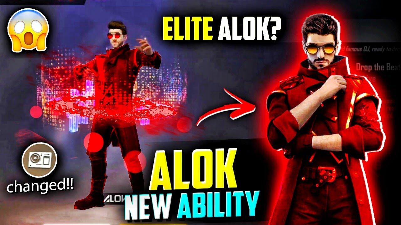 OMG Alok Active Skill Changed🤯🔥क्या ये Elite Alok है ?
