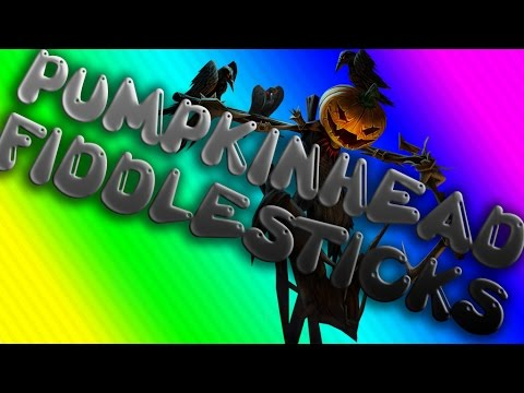 Pumpkinhead Fiddlesticks - Season 6 - League of Legends - My Skins Spotlights#10
