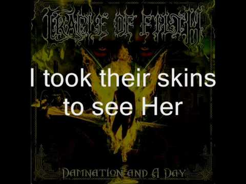 Cradle of Filth - Mannequin with lyrics