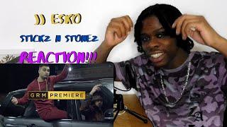 JJ Esko -  Stickz N Stonez [Music Video] |GRM Daily | REACTION!!!