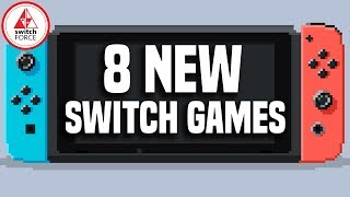 8 Promising New Switch Games JUST ANNOUNCED! And 1 Game Not Coming :(