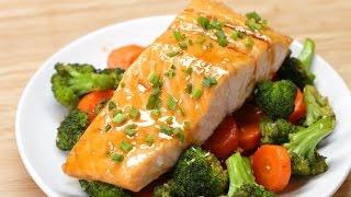 One-Pan Teriyaki Salmon Dinner