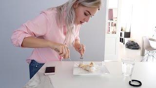 Claire proeft mijn breakfast burrito | Vloggloss 651