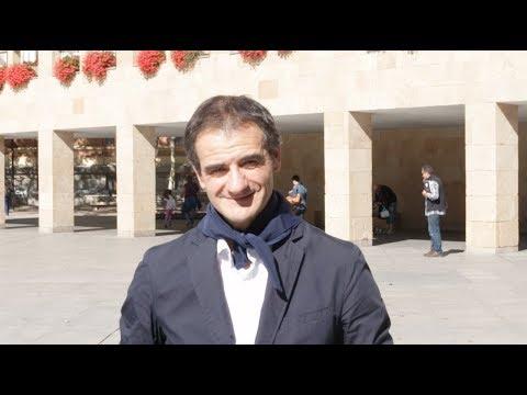 El Concejal de festejos, Miguel Sáinz, felicita los San Mateos 2017