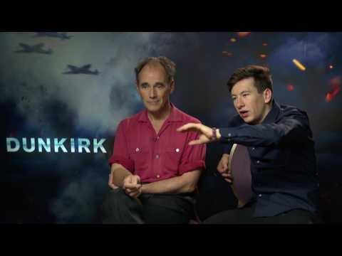 "Dunkirk Exclusive Interviews ""Everyone Can Do Their Bit"" Mark Rylance and Barry Keoghan"