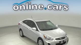 G12332TR  Used 2017 Hyundai Accent Silver Sedan Test Drive, Review, For Sale