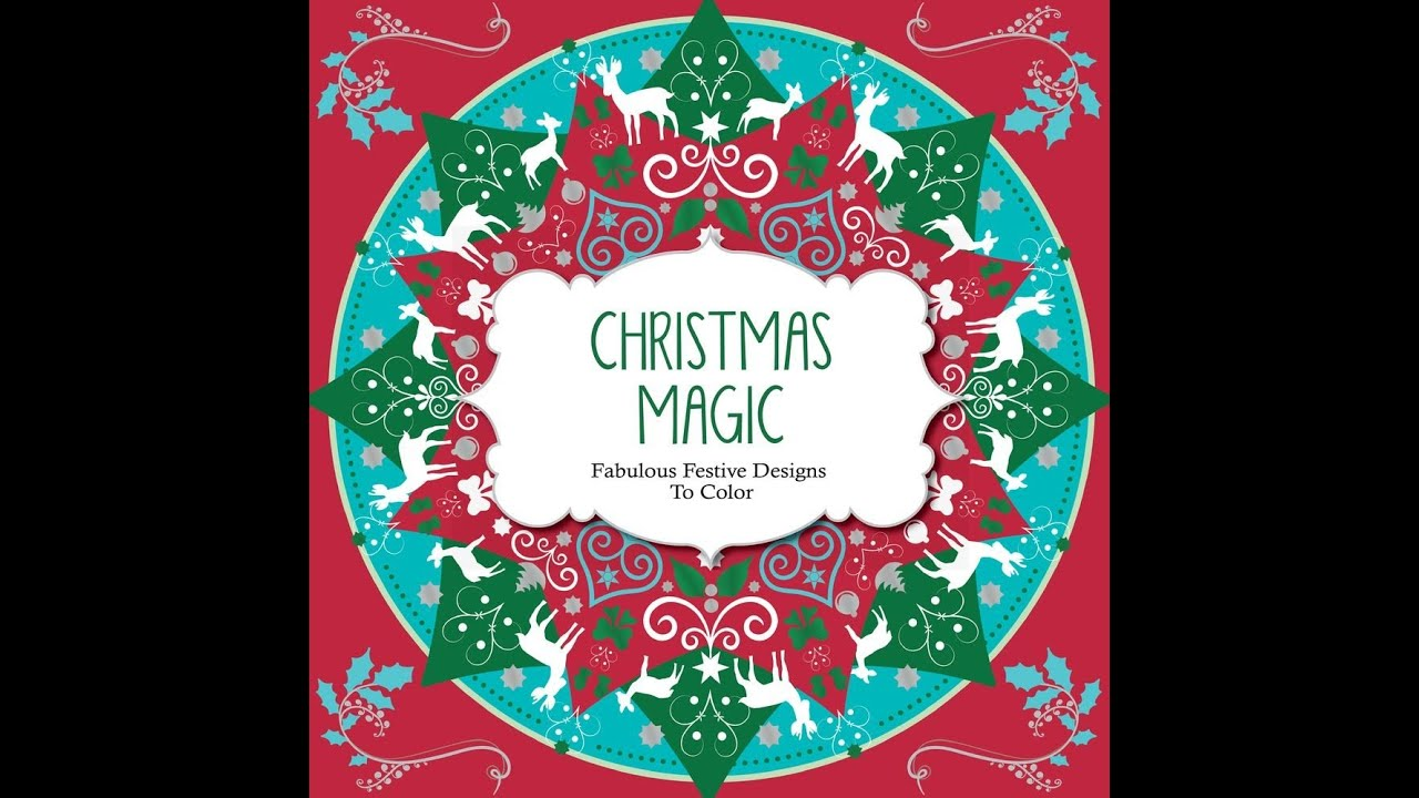 Flip Through Christmas Magic Coloring Book