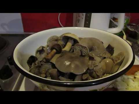 Как готовить синие ножки грибы