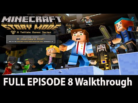 Minecraft Story Mode Episode 8 Full Walkthrough NO Commentary W/ Ending