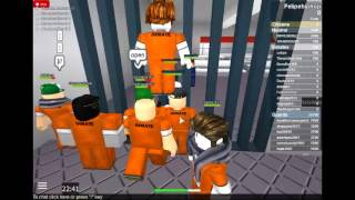 Roblox we managed to escape through the stinking sewer ECA XD #5