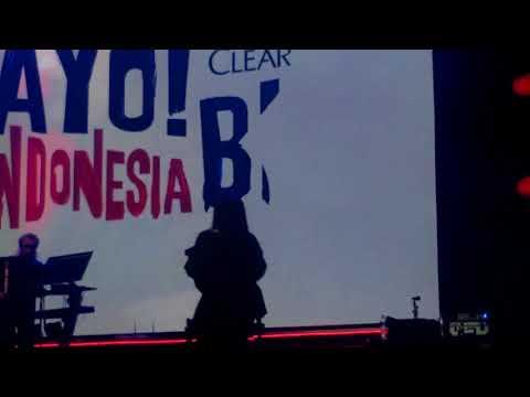 Gita Gutawa at #Clear #AyoIndonesiaBisa
