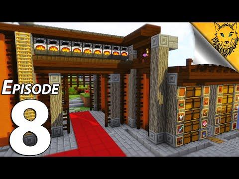 Eli's Kingdom: Episode 8 - Automatic Dual Super Smelter Redstone Madness!