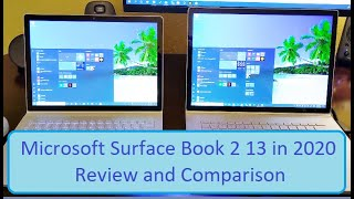 Microsoft Surface Book 2 13 in 2020 Review and Comparison
