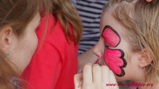 видео Мастер-класс на детский День Рождения