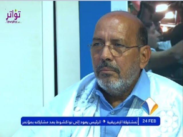 قناة المرابطون تستضيف رئيس حملة المليون توقيع لمأمورية ثالثة احمدو ولد أياهي