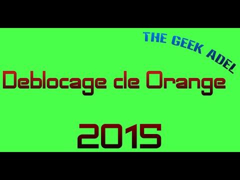 deblocage clé orange 2015