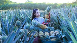 Cooking Pineapple cake and Pineapple rice fried in my homeland - Polin Lifestyle