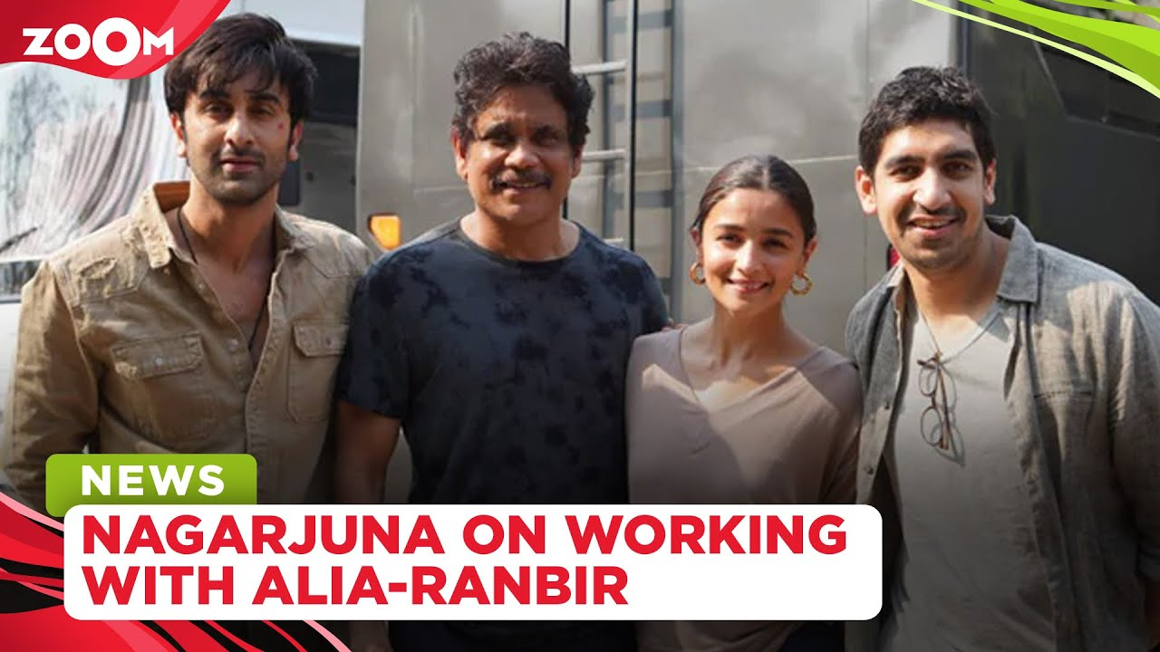 Nagarjuna OPENS UP on working with Alia Bhatt, Ranbir Kapoor in his Bollywood return film Brahmastra