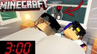 НЕ Играйте В Майнкрафт в 3:00 ЧАСА НОЧИ! Выживание и Ужасы Видео Minecraft мультик для детей