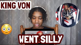 """King Von - """"Went Silly"""" (Official Music Video) REACTION"""