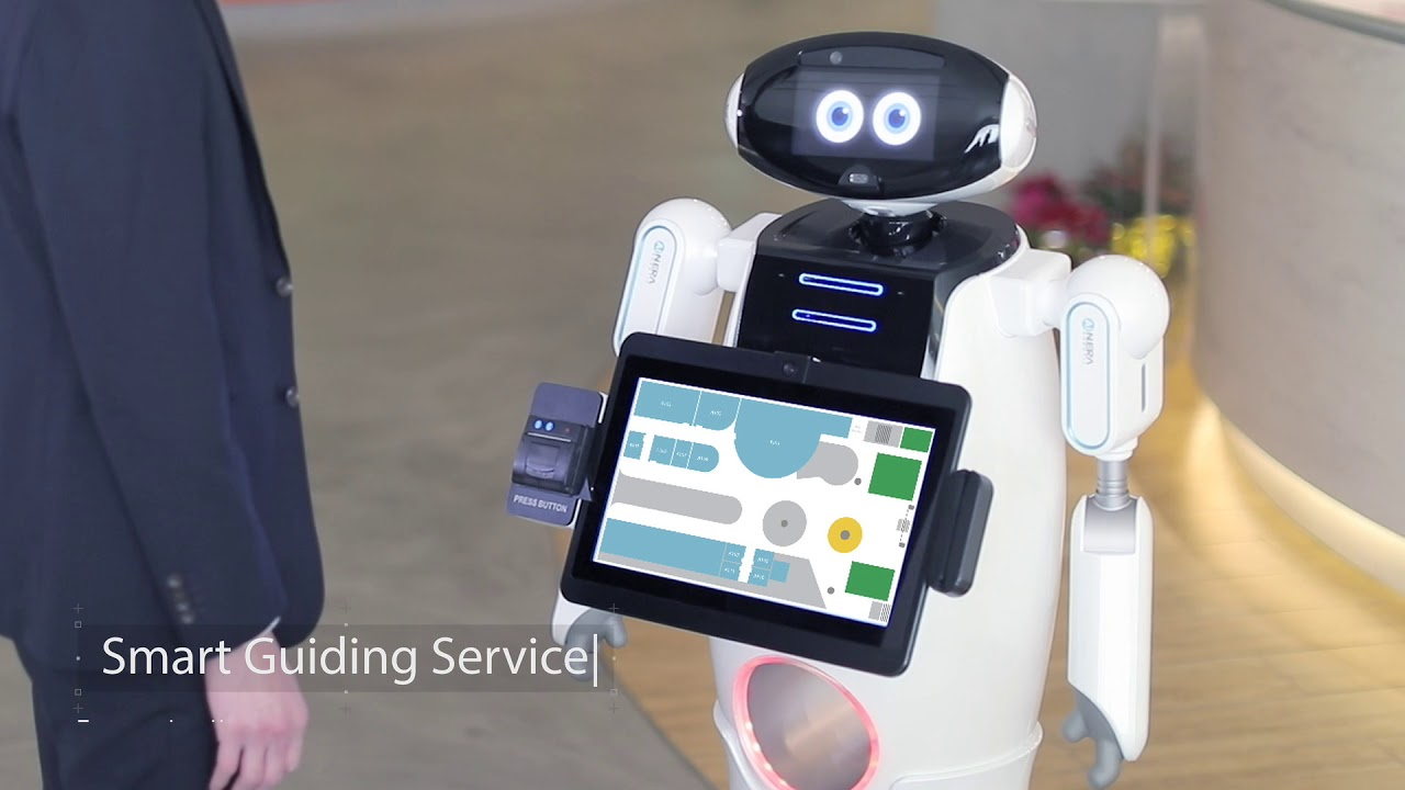 New Era AI Robotic – Smart Service & Delivery Robots for Hospital Applications