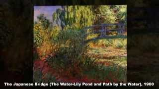 Water Lilies by Claude Monet  - A French Impressionist Painter
