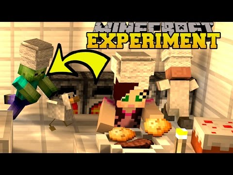 Minecraft: EXPERIMENT GONE WRONG!!! - TRAYAURUS'S ZOMBIE EXPERIMENT - Custom Map [1]