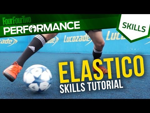 Elastico skill tutorial with DC Freestyle | Football skills