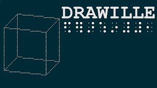 DRAWILLE, drawing in terminal with unicode braille characters