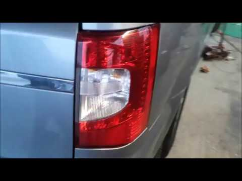 How To Install Replace A Tail Light Bulb Chrysler Town And Country