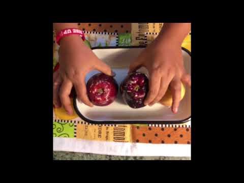 How eating apple is dangerous to health?  / Rakshi's Little Tots / Kids food