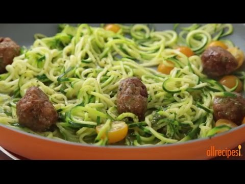 how-to-make-zucchini-pasta-|-low-carb-recipes-|-allrecipes.com