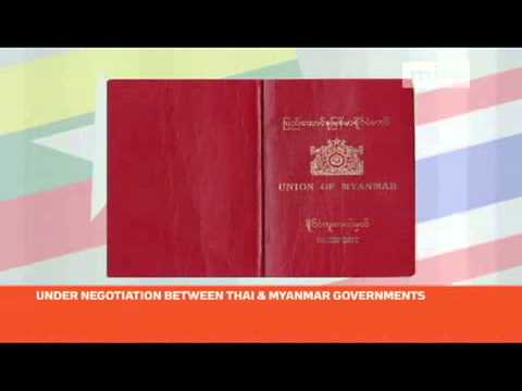 mitv - Draft agreement: Myanmar ordinary passport holders need to apply entry visas into Thailand