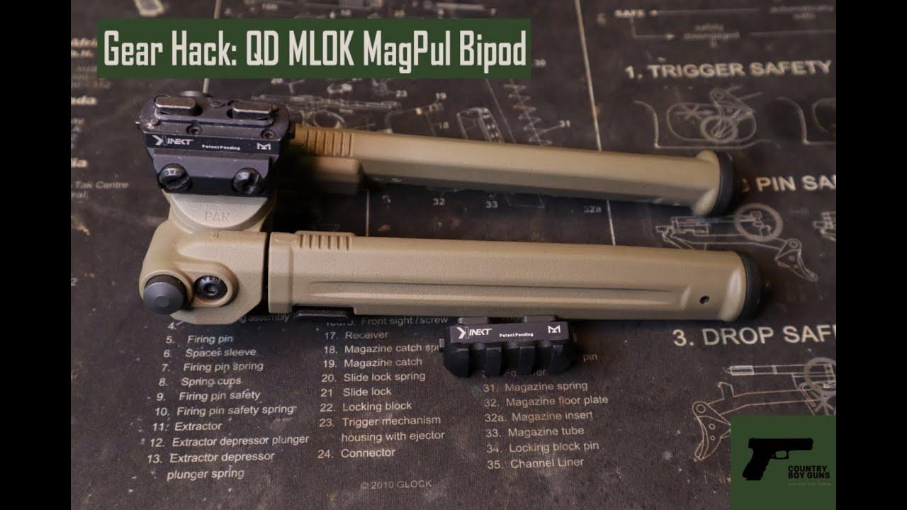 Gear Hack: QD MLOK MagPul Bipod
