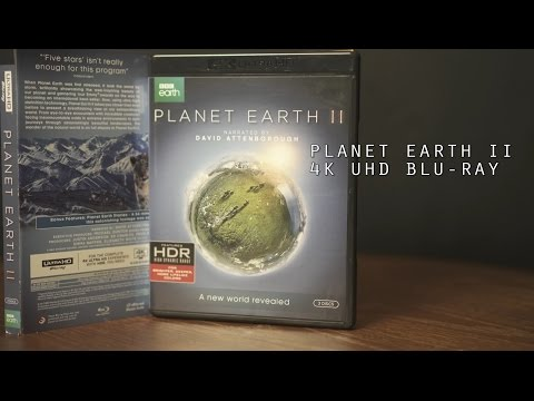 Planet Earth 2 4K UHD Blu-Ray Unboxing Audio/ Video Review