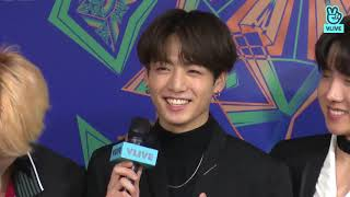[CC ENG] 190106 BTS backstage interview @ 2019 GDA