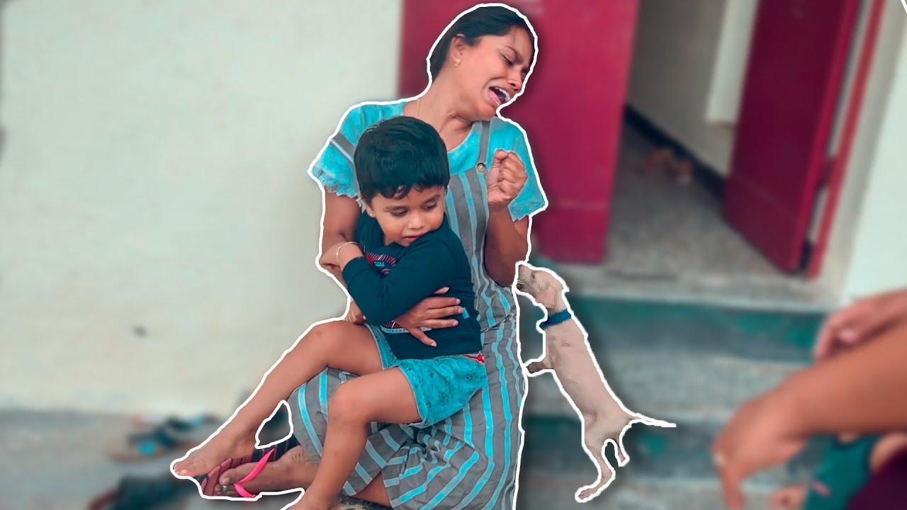 Jocky Bites My Chithi 😭 She Cried