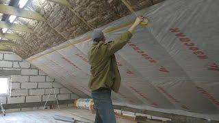видео Утеплитель для крыши