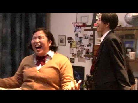 ゆりやん、まさかのハプニングに竜星涼が「Oh My God!」/「恋する肌キュンmovie」メイキング