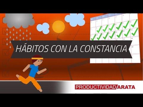 Cómo Formar Hábitos con la Constancia | Productividad Arata 09