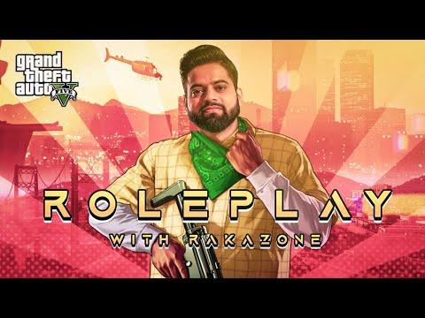 GTA 5 RP India • GTA 5 Live Stream #GameOnIntel