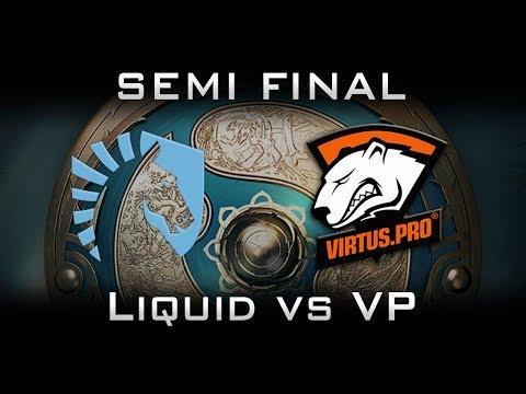 Liquid vs VP TI7 [EPIC] LB Semi Final Highlights The International 2017 Dota 2