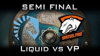 Liquid vs VP TI7 [EPIC] LB Semi Final Highlights The International 2017 Dota 2