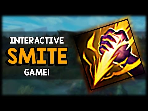How well can you Smite? - Interactive League of Legends Minigame!